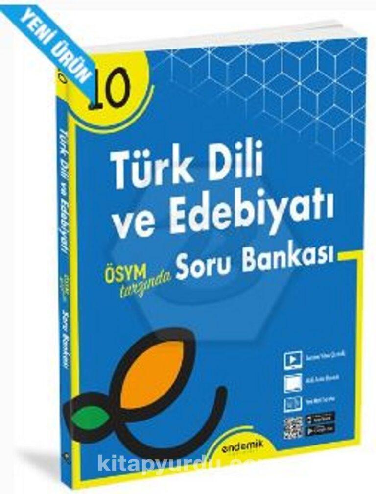 10.Sınıf Türk Dili ve Edebiyatı Soru Bankası Pdf İndir - ENDEMİK YAYINLARI Pdf İndir 5 | 10sinif turk dili ve edebiyati soru bankasi pdf indir endemik yayinlari pdf indir 78034